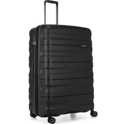 Antler Juno 2 Large 80cm Hardside Suitcase Black 42215