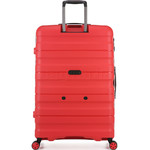 Antler Juno 2 Large 80cm Hardside Suitcase Red 42215 - 1