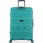 Antler Juno 2 Large 80cm Hardside Suitcase Teal 42215 - 1