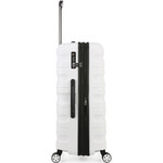 Antler Juno 2 Large 80cm Hardside Suitcase White 42215 - 3