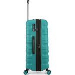 Antler Juno 2 Large 80cm Hardside Suitcase Teal 42215 - 3