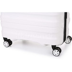 Antler Juno 2 Large 80cm Hardside Suitcase White 42215 - 6