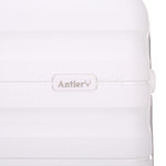 Antler Juno 2 Large 80cm Hardside Suitcase White 42215 - 8