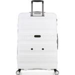 Antler Juno 2 Hardside Suitcase Set of 3 White 42215, 42216, 42219 with FREE GO Travel Luggage Scale G2006 - 1