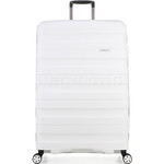 Antler Juno 2 Hardside Suitcase Set of 3 White 42215, 42216, 42219 with FREE GO Travel Luggage Scale G2006 - 2