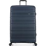 Antler Juno 2 Hardside Suitcase Set of 3 Navy 42215, 42216, 42219 with FREE GO Travel Luggage Scale G2006 - 2