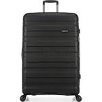 Antler Juno 2 Hardside Suitcase Set of 3 Black 42215, 42216, 42219 with FREE GO Travel Luggage Scale G2006 - 2