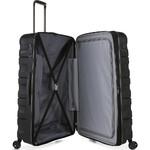 Antler Juno 2 Hardside Suitcase Set of 3 Black 42215, 42216, 42219 with FREE GO Travel Luggage Scale G2006 - 4