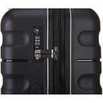 Antler Juno 2 Hardside Suitcase Set of 3 Black 42215, 42216, 42219 with FREE GO Travel Luggage Scale G2006 - 5