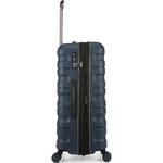 Antler Juno 2 Hardside Suitcase Set of 3 Navy 42215, 42216, 42219 with FREE GO Travel Luggage Scale G2006 - 3