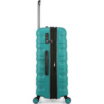 Antler Juno 2 Hardside Suitcase Set of 3 Teal 42215, 42216, 42219 with FREE GO Travel Luggage Scale G2006 - 3