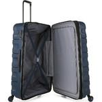 Antler Juno 2 Hardside Suitcase Set of 3 Navy 42215, 42216, 42219 with FREE GO Travel Luggage Scale G2006 - 4