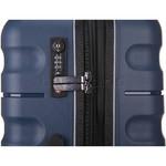 Antler Juno 2 Hardside Suitcase Set of 3 Navy 42215, 42216, 42219 with FREE GO Travel Luggage Scale G2006 - 5