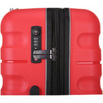 Antler Juno 2 Hardside Suitcase Set of 3 Red 42215, 42216, 42219 with FREE GO Travel Luggage Scale G2006 - 5
