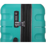 Antler Juno 2 Hardside Suitcase Set of 3 Teal 42215, 42216, 42219 with FREE GO Travel Luggage Scale G2006 - 5