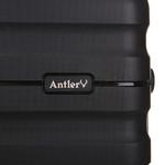 Antler Juno 2 Hardside Suitcase Set of 3 Black 42215, 42216, 42219 with FREE GO Travel Luggage Scale G2006 - 7