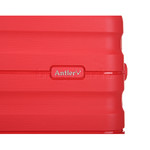 Antler Juno 2 Hardside Suitcase Set of 3 Red 42215, 42216, 42219 with FREE GO Travel Luggage Scale G2006 - 7