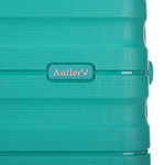 Antler Juno 2 Hardside Suitcase Set of 3 Teal 42215, 42216, 42219 with FREE GO Travel Luggage Scale G2006 - 7