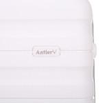 Antler Juno 2 Hardside Suitcase Set of 3 White 42215, 42216, 42219 with FREE GO Travel Luggage Scale G2006 - 7