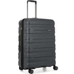Antler Juno 2 Medium 68cm Hardside Suitcase Charcoal 42216
