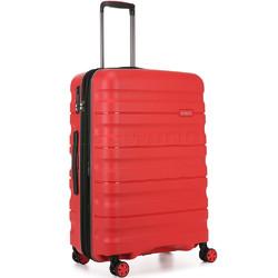 Antler Juno 2 Medium 68cm Hardside Suitcase Red 42216