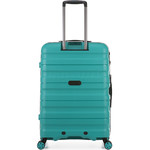 Antler Juno 2 Medium 68cm Hardside Suitcase Teal 42216 - 1