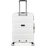 Antler Juno 2 Medium 68cm Hardside Suitcase White 42216 - 1