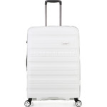 Antler Juno 2 Medium 68cm Hardside Suitcase White 42216 - 2