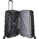 Antler Juno 2 Medium 68cm Hardside Suitcase Black 42216 - 4
