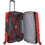 Antler Juno 2 Medium 68cm Hardside Suitcase Red 42216 - 4