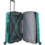 Antler Juno 2 Medium 68cm Hardside Suitcase Teal 42216 - 4