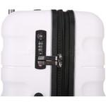 Antler Juno 2 Medium 68cm Hardside Suitcase White 42216 - 5