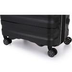 Antler Juno 2 Medium 68cm Hardside Suitcase Black 42216 - 6