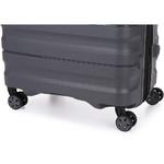 Antler Juno 2 Medium 68cm Hardside Suitcase Charcoal 42216 - 6