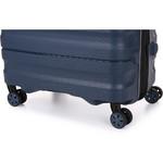 Antler Juno 2 Medium 68cm Hardside Suitcase Navy 42216 - 6