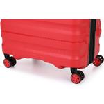 Antler Juno 2 Medium 68cm Hardside Suitcase Red 42216 - 6