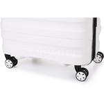 Antler Juno 2 Medium 68cm Hardside Suitcase White 42216 - 6