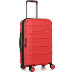 Antler Juno 2 Small/Cabin 56cm Hardside Suitcase Red 42219