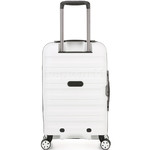 Antler Juno 2 Small/Cabin 56cm Hardside Suitcase White 42219 - 1