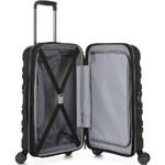 Antler Juno 2 Small/Cabin 56cm Hardside Suitcase Black 42219 - 3