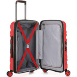 Antler Juno 2 Small/Cabin 56cm Hardside Suitcase Red 42219 - 3