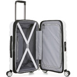 Antler Juno 2 Small/Cabin 56cm Hardside Suitcase White 42219 - 3