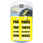 GO Travel Tag Me Luggage Tags Cities GO153 - 2