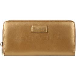 Lipault Miss Plume Zip Around Wallet Dark Gold 03036