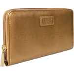 Lipault Miss Plume Zip Around Wallet Dark Gold 03036 - 2