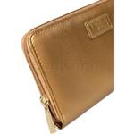 Lipault Miss Plume Zip Around Wallet Dark Gold 03036 - 4