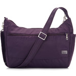 "Pacsafe Citysafe CS200 Anti-Theft 11"" Laptop/Tablet Handbag Mulberry 20225"