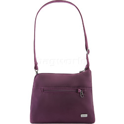Pacsafe Daysafe Anti-Theft Slim Crossbody Tablet Bag Berry 20500