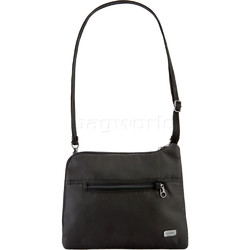 Pacsafe Daysafe Anti-Theft Slim Crossbody Tablet Bag Black 20500