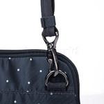 Pacsafe Daysafe Anti-Theft Slim Crossbody Tablet Bag Navy Polka Dot 20500 - 5